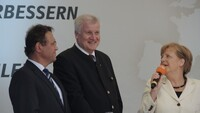 Merkel in Hof
