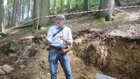 Ausgrabung Presseck Hans-Georg Herbig