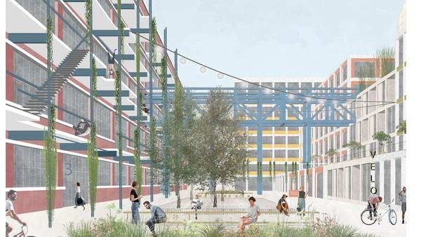 © asp Architekten, Stuttgart mit Johannes Wenzel, Coburg und koeber Landschaftsarchitektur, Stuttgart